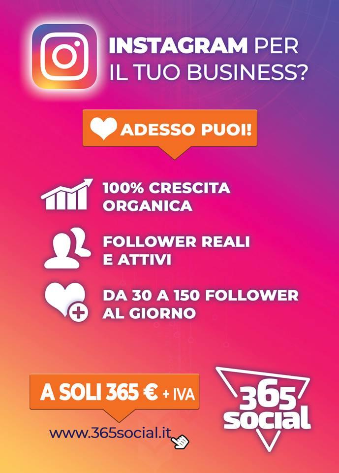 crescita reale instagram